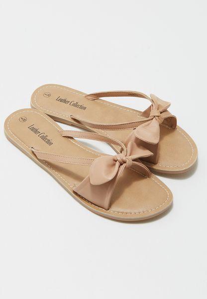 Bow Mule Sandal