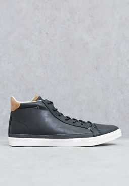 Laced sport high-cut