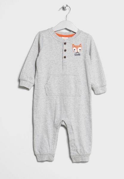 Infant Fox Onesie