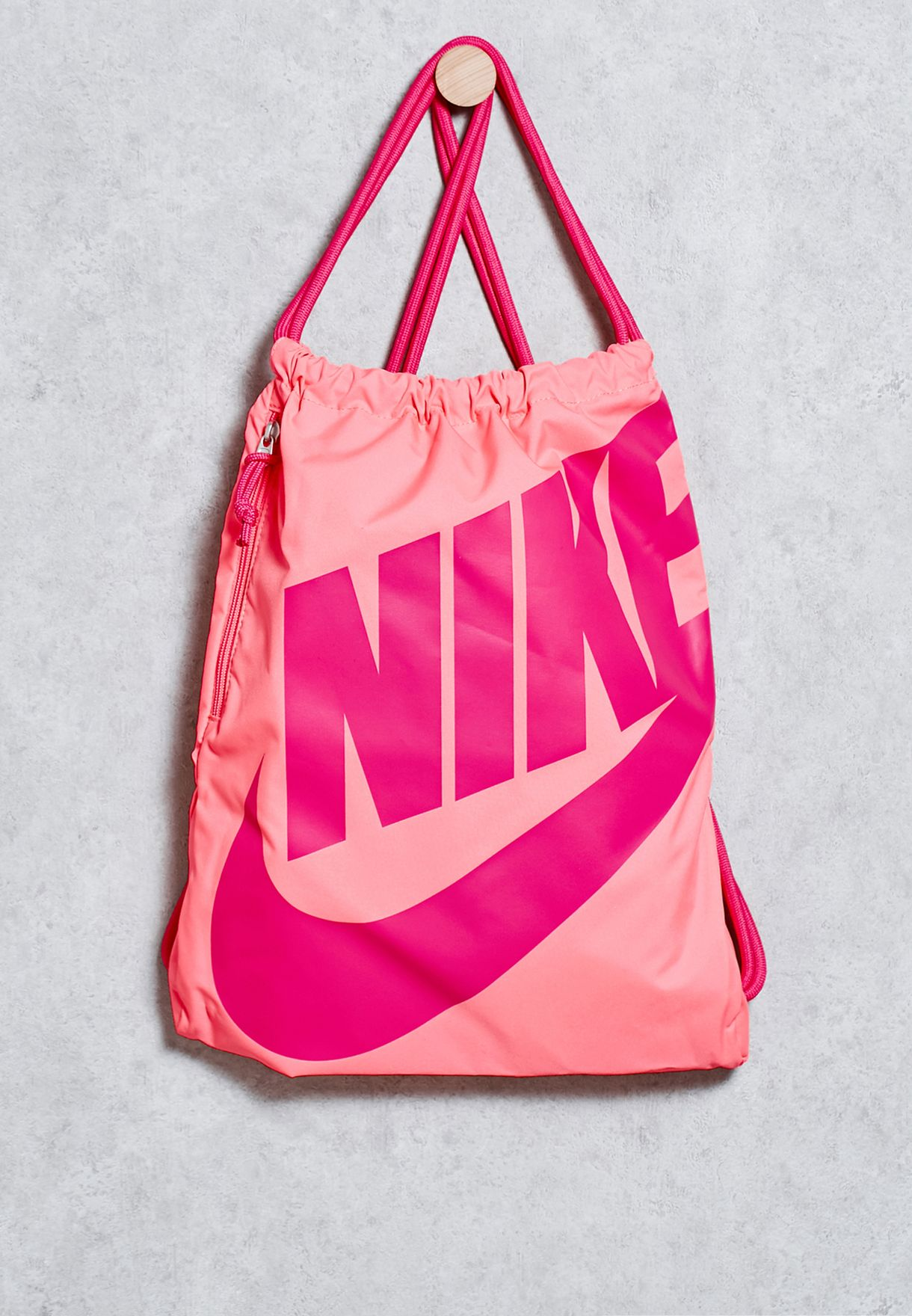 Shop Nike pink Heritage Gymsack BA5351-627 for Women in Oman - NI727AC04ZNV e48ef1e814041