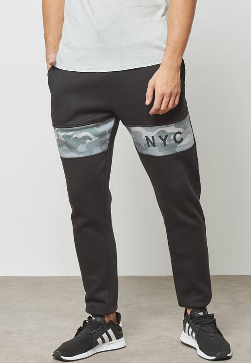NYC Cuffed Sweatpants