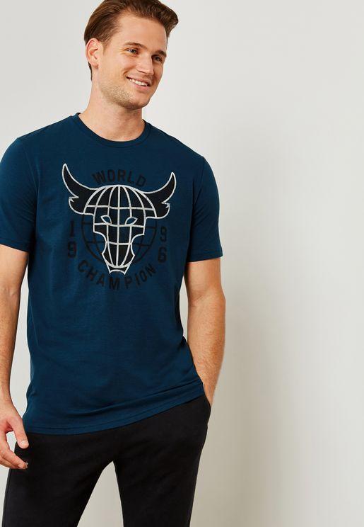 Project Rock World Champion T-Shirt