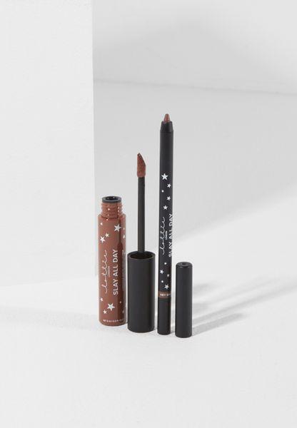 All Day Matte Lip & Liner Kit - Hey Bae
