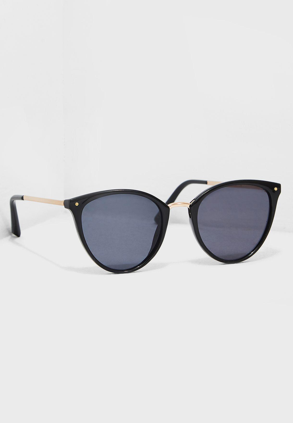415124506e Shop Mango black Aqua Sunglasses 43040683 for Women in UAE ...