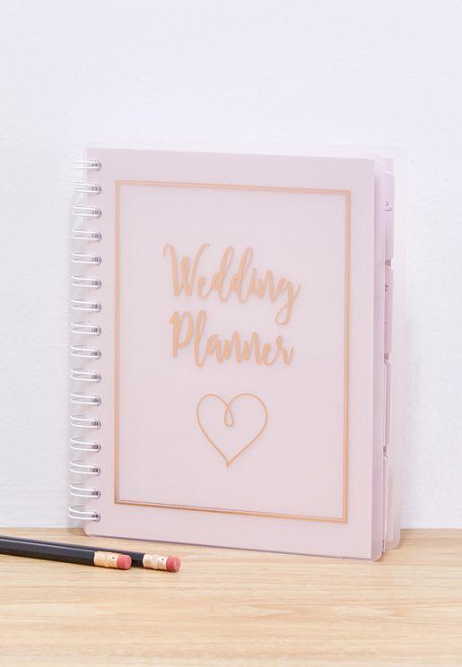 دفتر لتخطيط مستلزمات الزواج