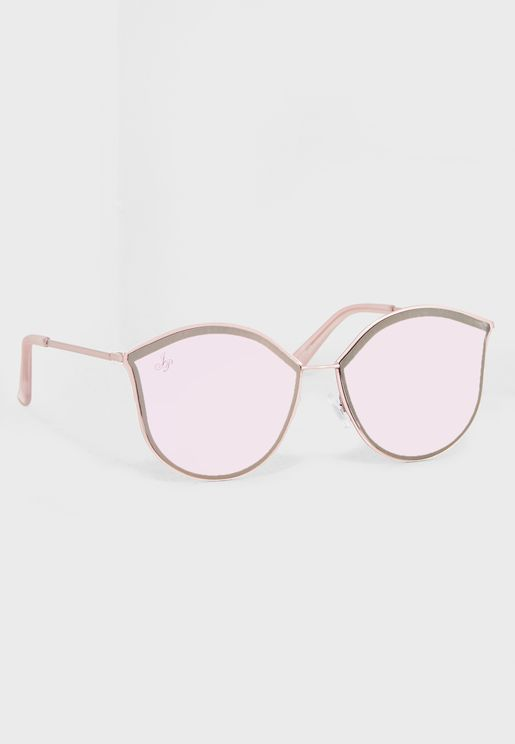 Cat Eye Gradient Lens Sunglasses