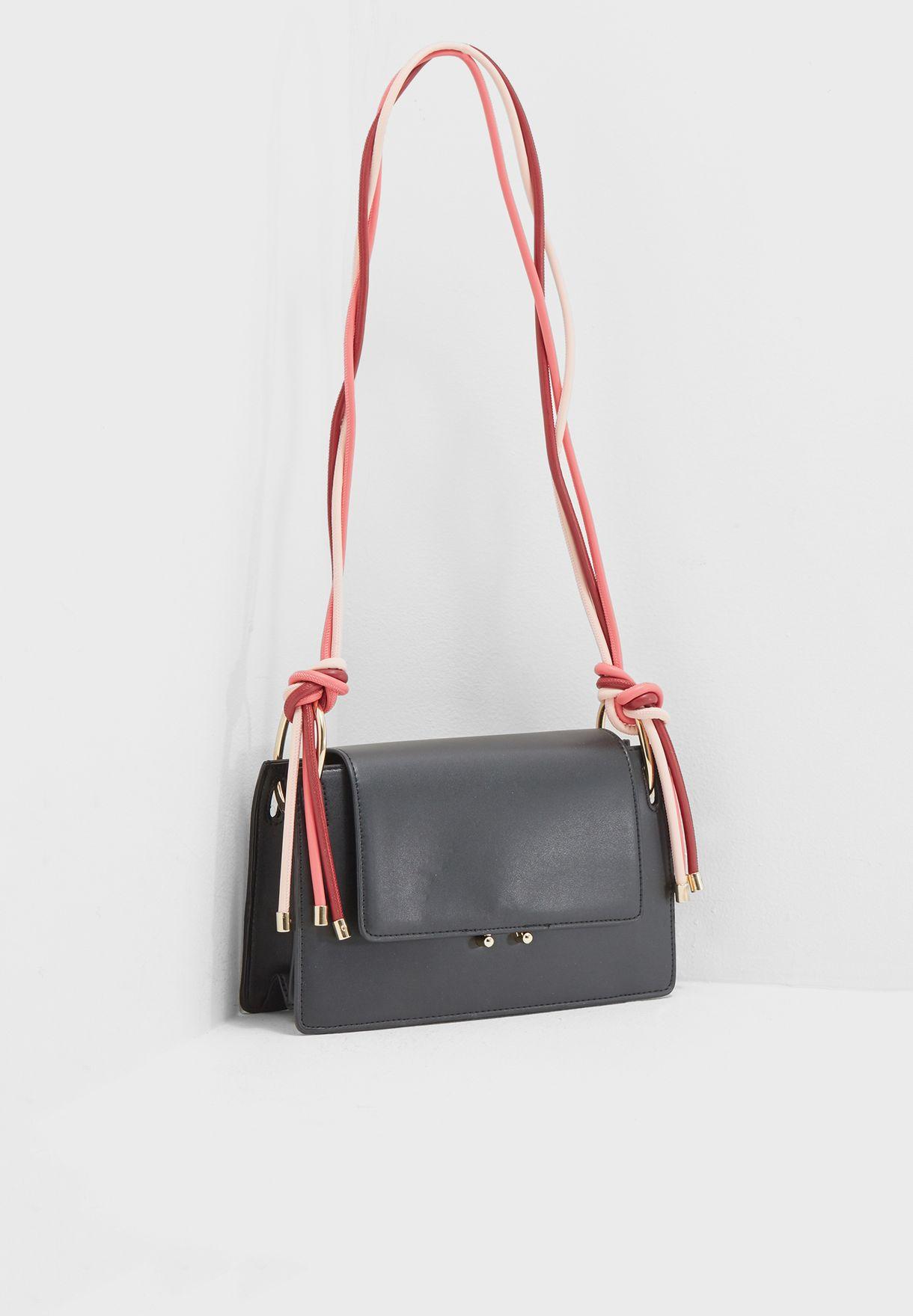 634351245f Shop Mango black Rianxo Bag 23045690 for Women in UAE - MA887AC04XYD