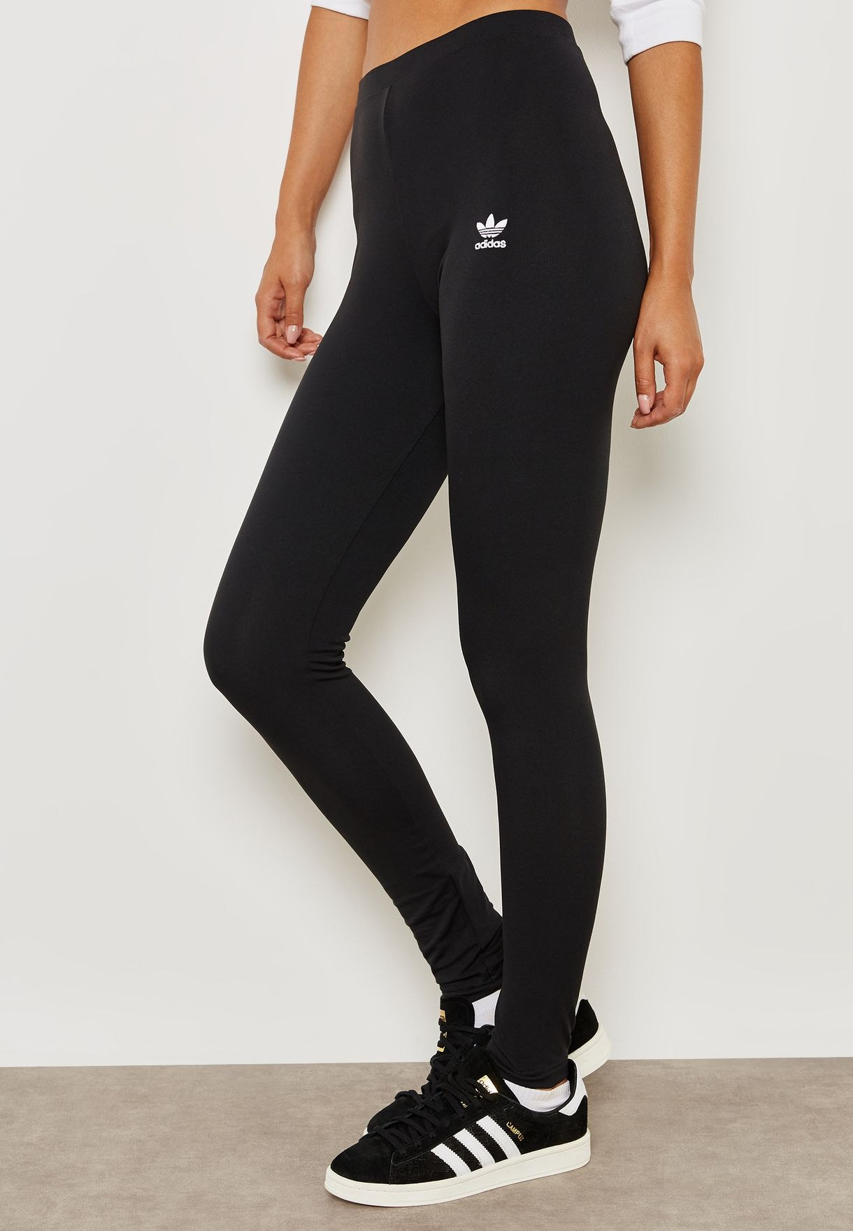 f6e89afaacb5 Shop adidas Originals black Styling Complement Leggings DH2754 for ...