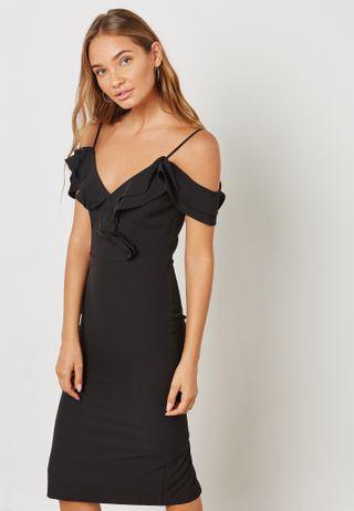 تسوق فستان مكسي بظهر مكشوف ماركة سويبلو لون أسود M17432 في عمان ... f5af70ee5