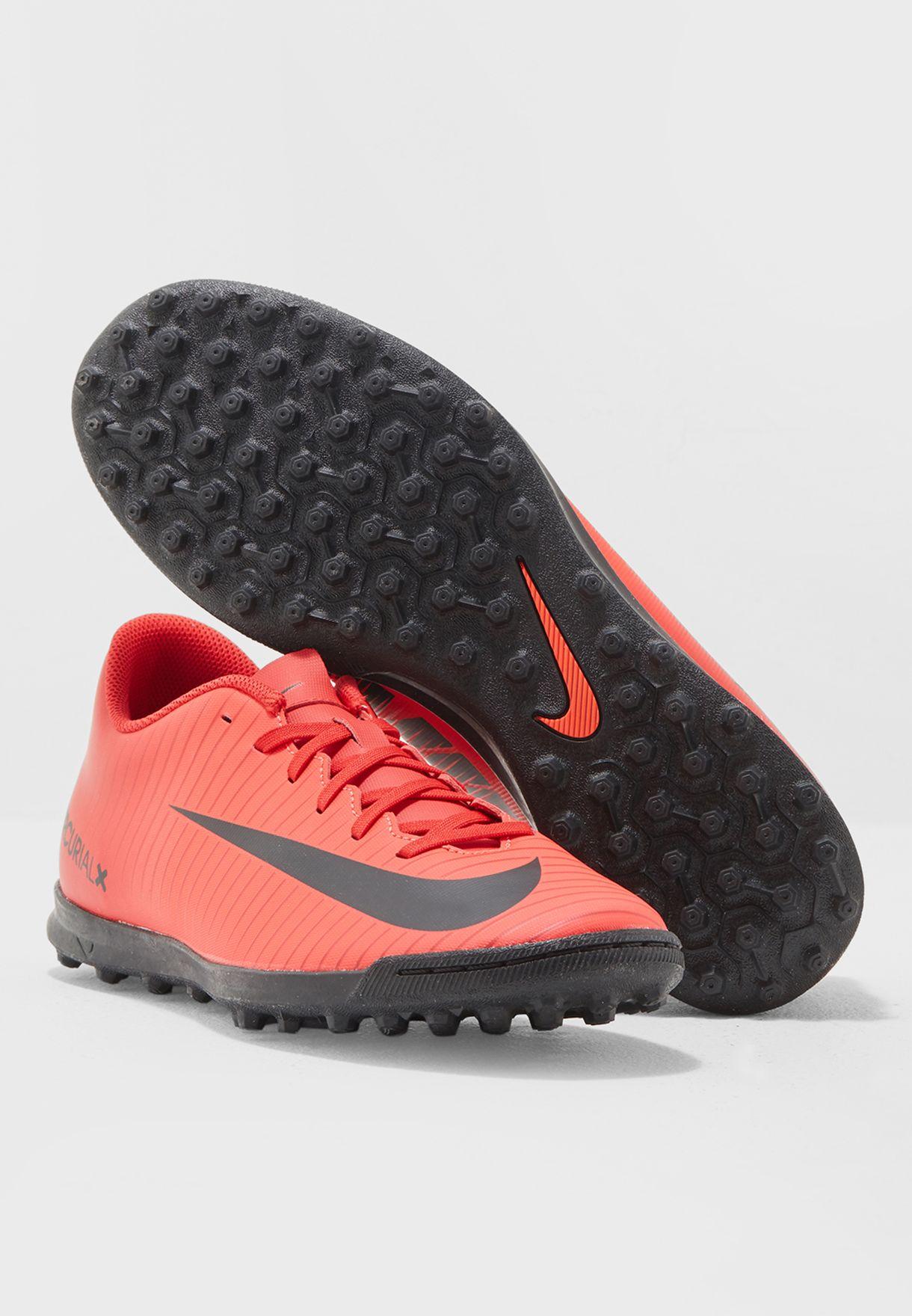 6982c200b Shop Nike red Mercurialx Vortex III TF 831971-616 for Men in UAE ...