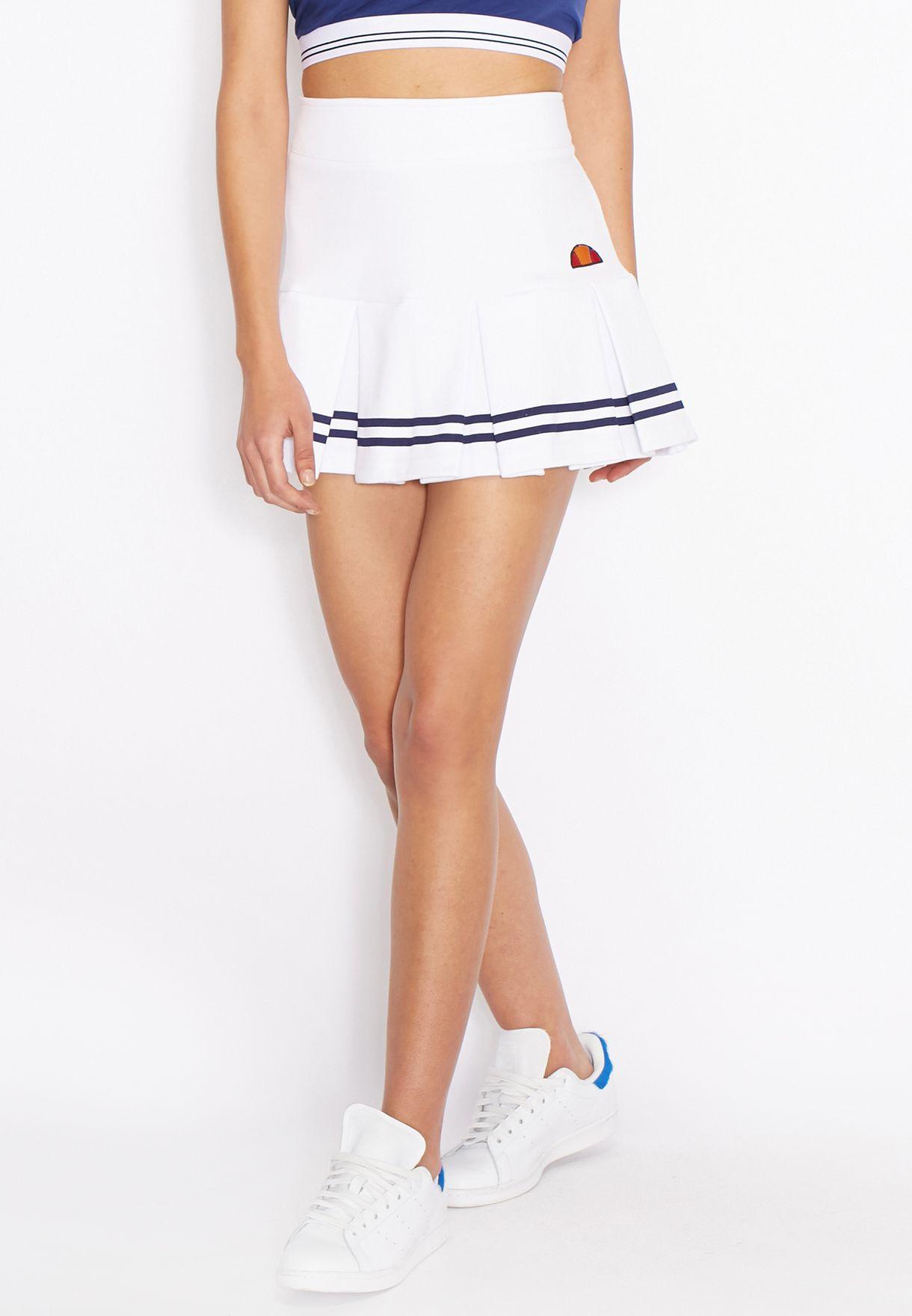 Shop Ellesse white Classic Tennis Skirt for Women in Bahrain ... e5474de779