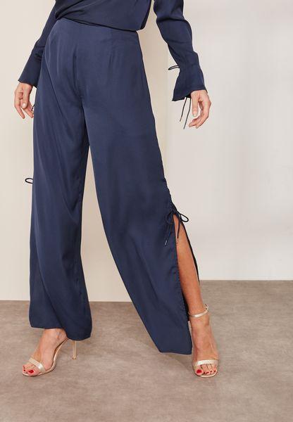 Split Wide Leg Pants