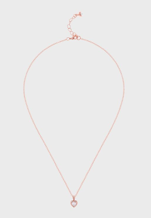 Hannela Crystal Heart Pendant Necklace