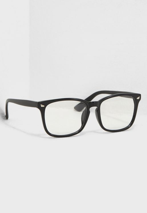 Clear Lens Wayfarer Glasses