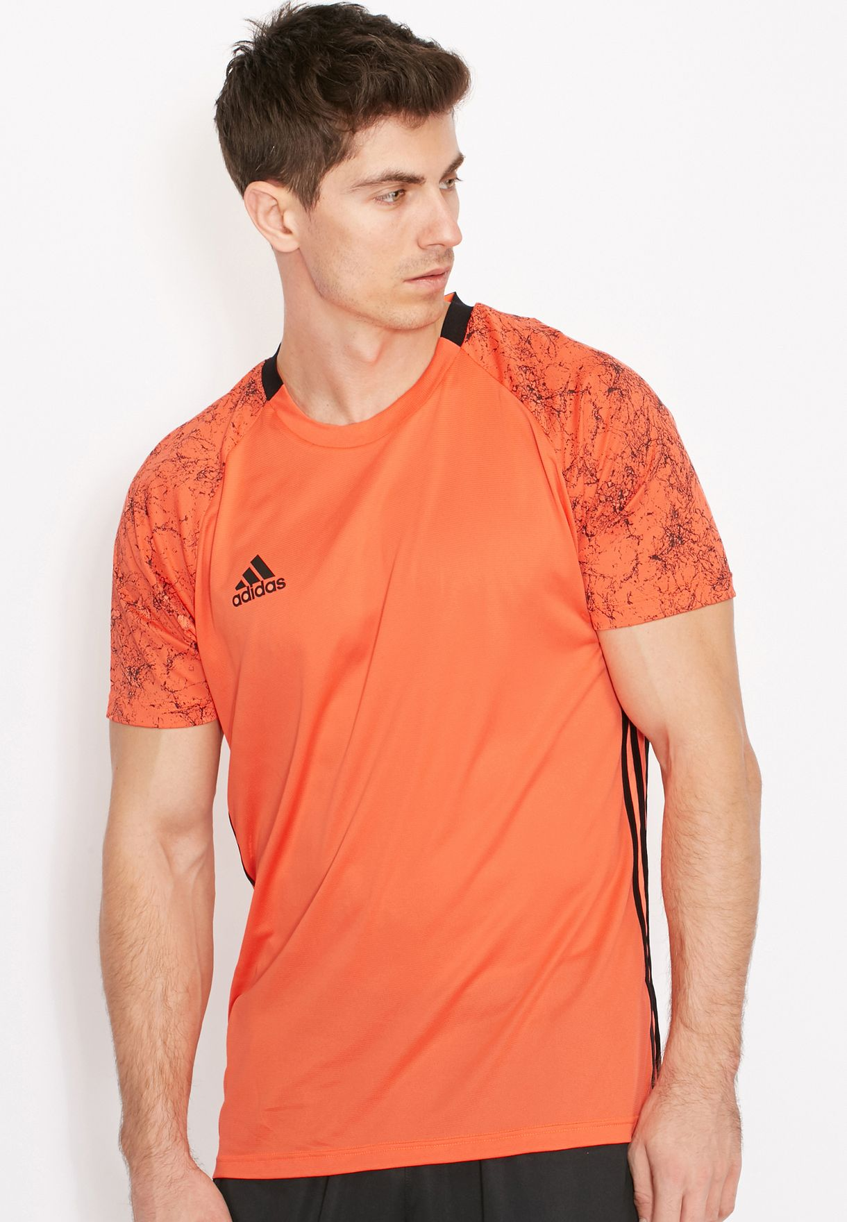 0ba0366f57ca Shop adidas orange UFB Climacool T-Shirt AP1245 for Men in UAE ...