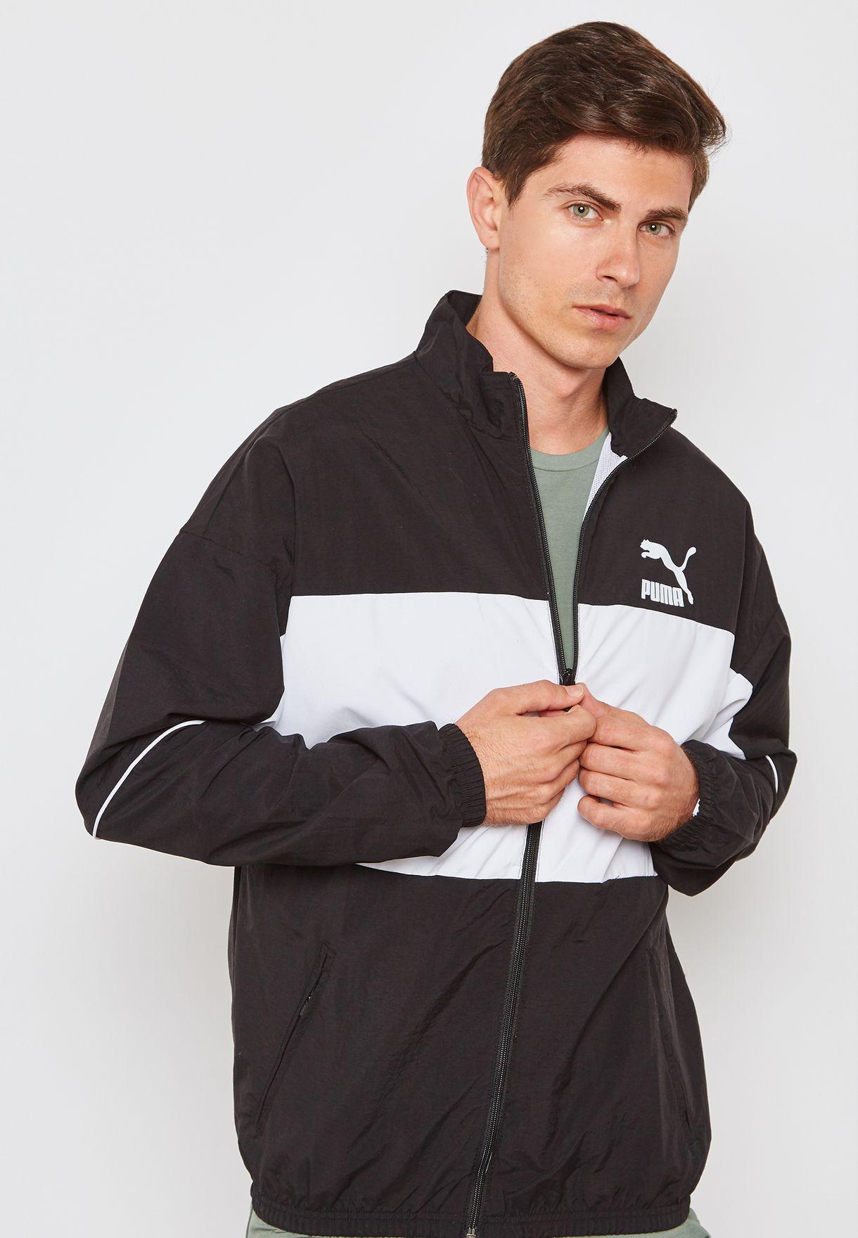 6dd5830b5546 Shop PUMA monochrome Retro Track Jacket 57637601 for Men in Globally ...