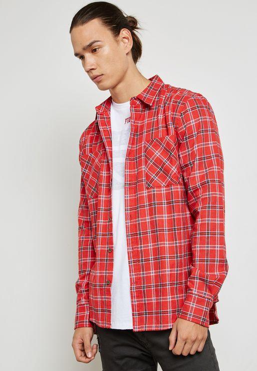 Skid Row Check Shirt