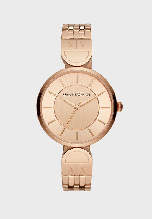 Round Minimalist Bracelet Watch