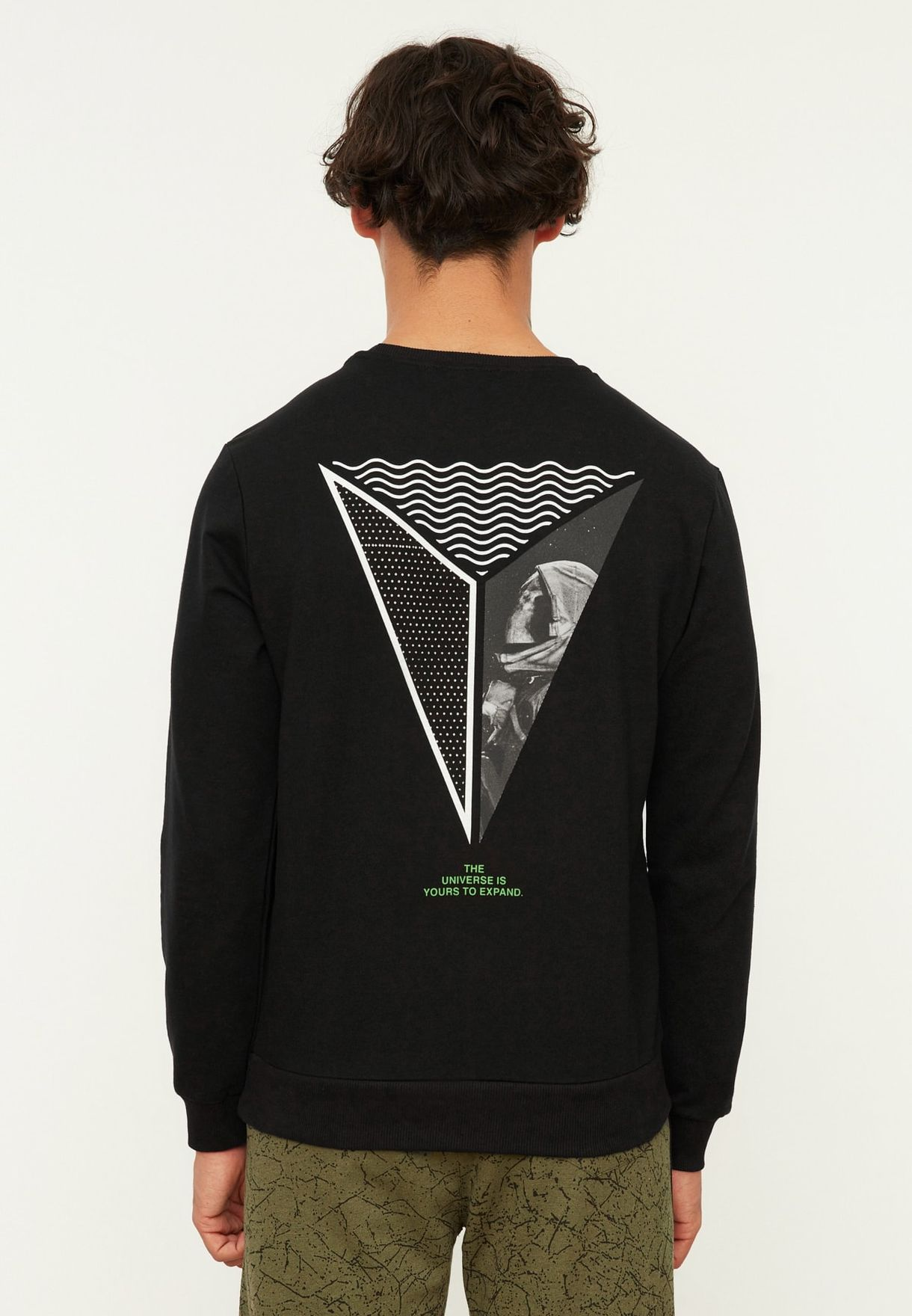 Back Print Sweatshirt