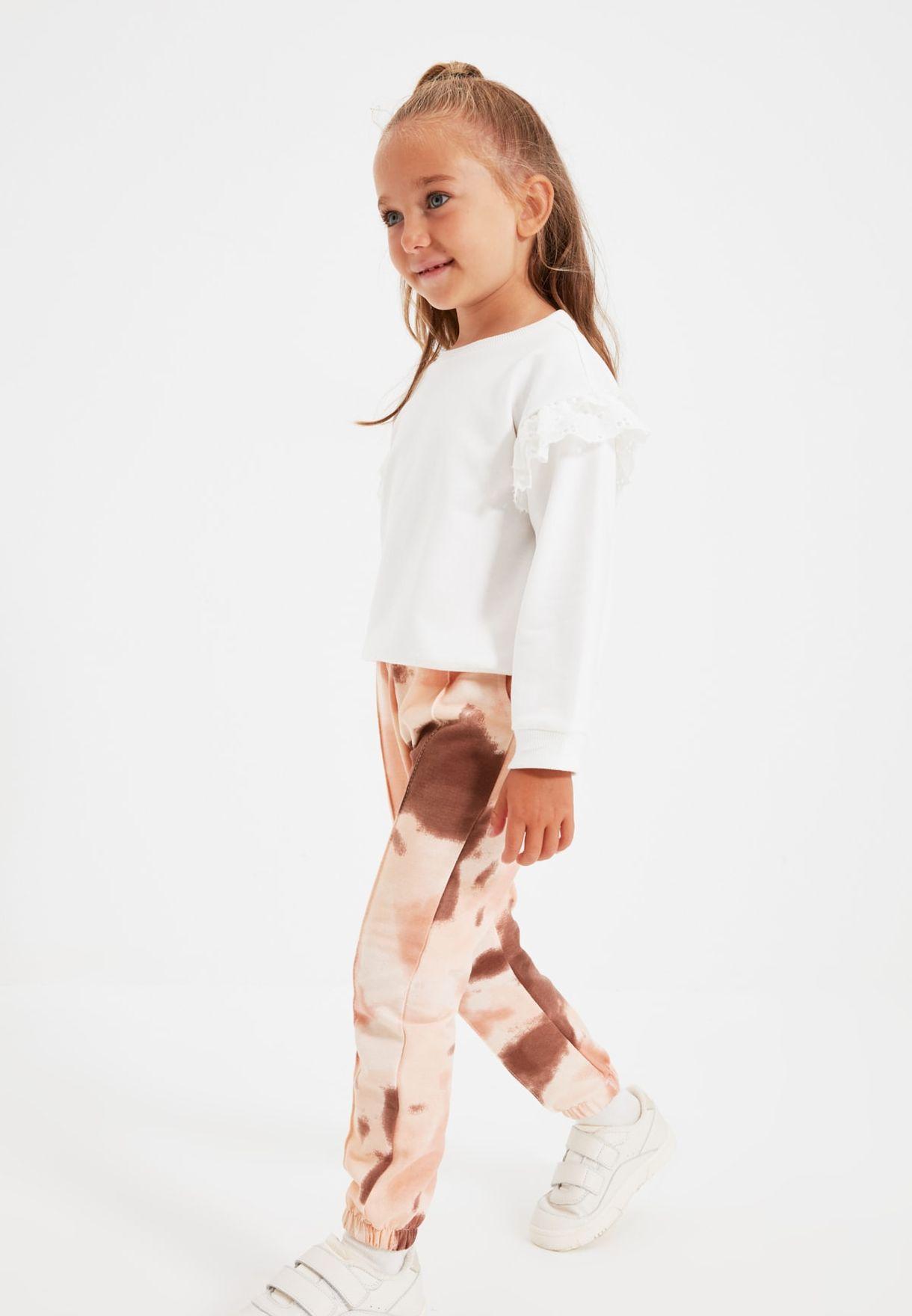 Kids Tie Dye Sweatpants