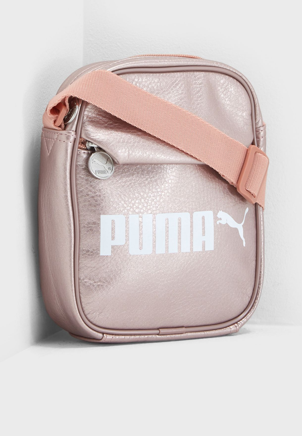 73ad591cb2 Shop PUMA pink Campus Portable Messenger 07500403 for Women in UAE ...