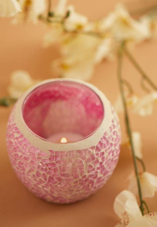 شمعدان زجاجي