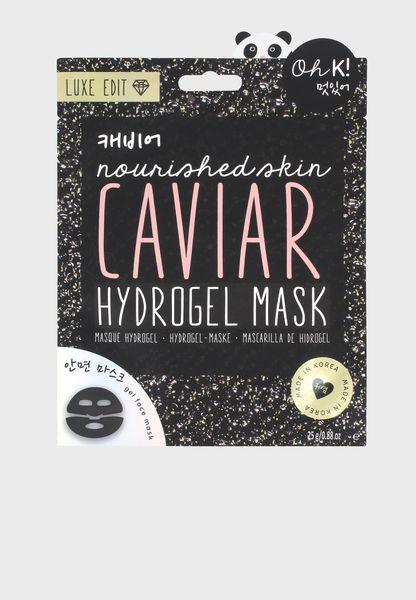 Luxe Hydrogel Caviar Face Mask