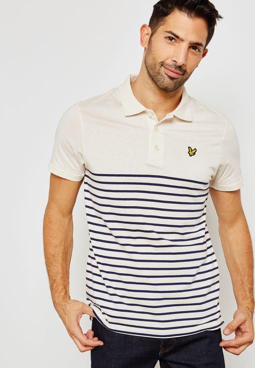 Breton Stripe Polo