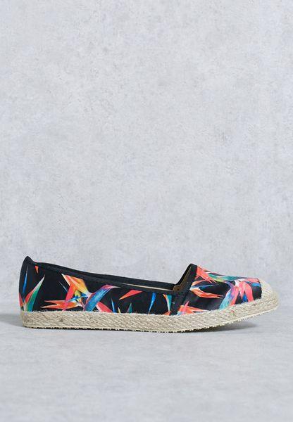 حذاء اسبادريل مطبع