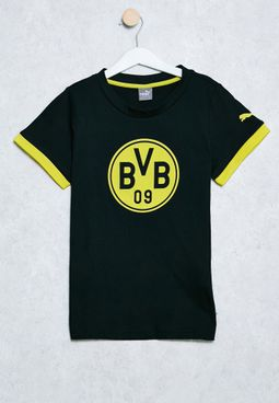 Youth Borussia Dortmund Badge T-Shirt