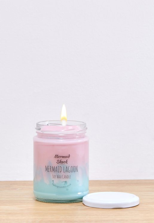 Mermaid Lagoon Ombre Jar Candle