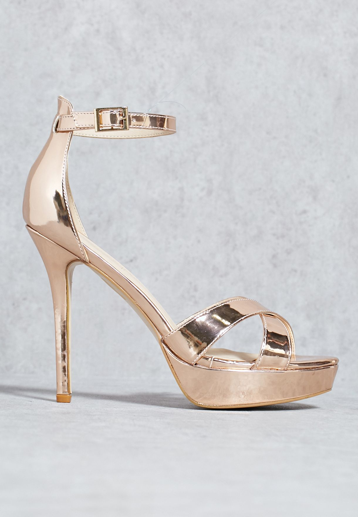 68b7a298dd96 Shop Truffle gold Dressy platform sandal SANDY10 B for Women in UAE ...