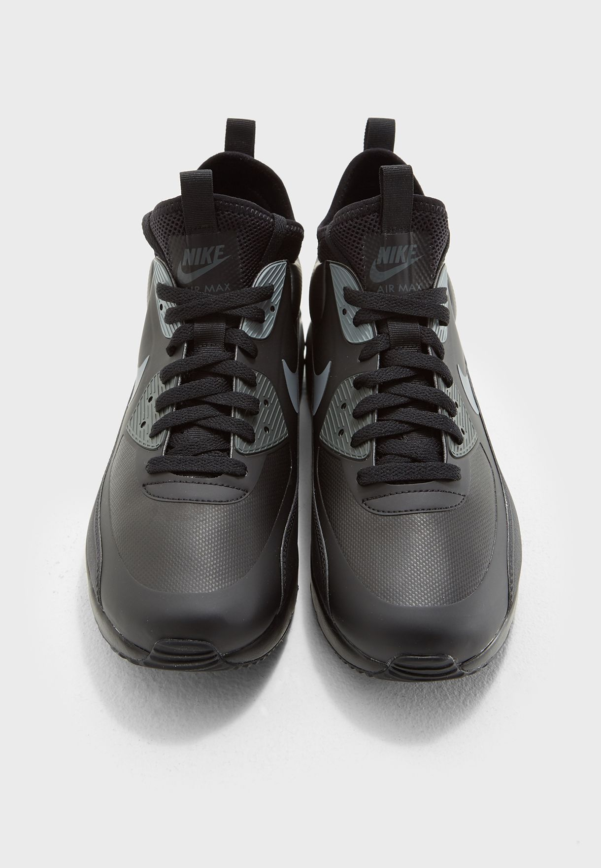 73bc7bd90e61 Shop Nike black Air Max 90 Ultra Mid Winter 924458-002 for Men in ...
