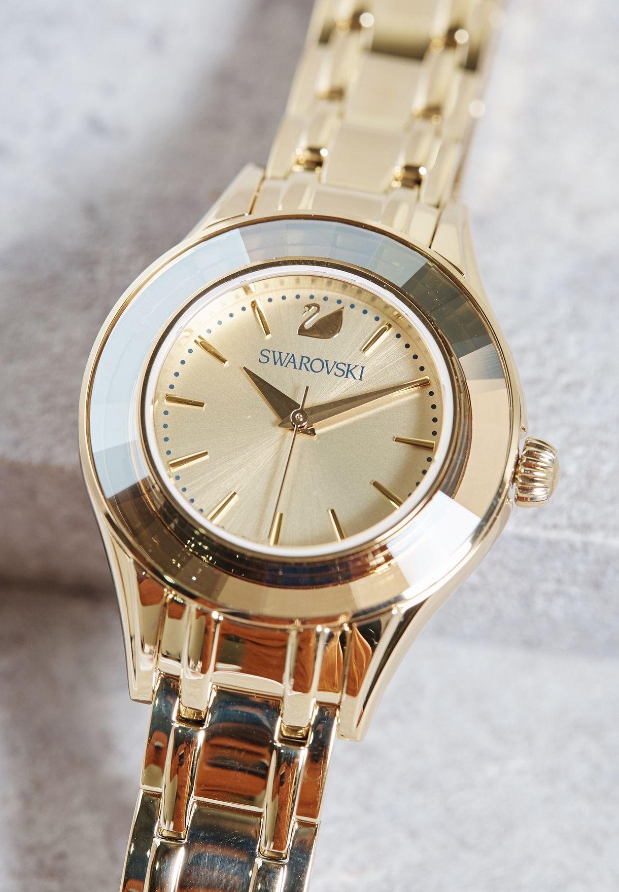 77d3505a069ed0 Shop Swarovski gold Alegria Watch 5188840 for Women in UAE ...