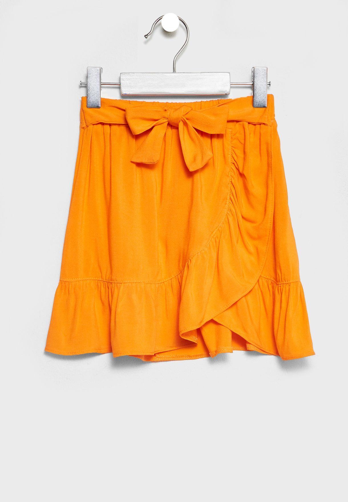 Little Tie Waist Skirt