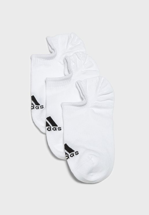 3 Pack Performance Invisible Socks