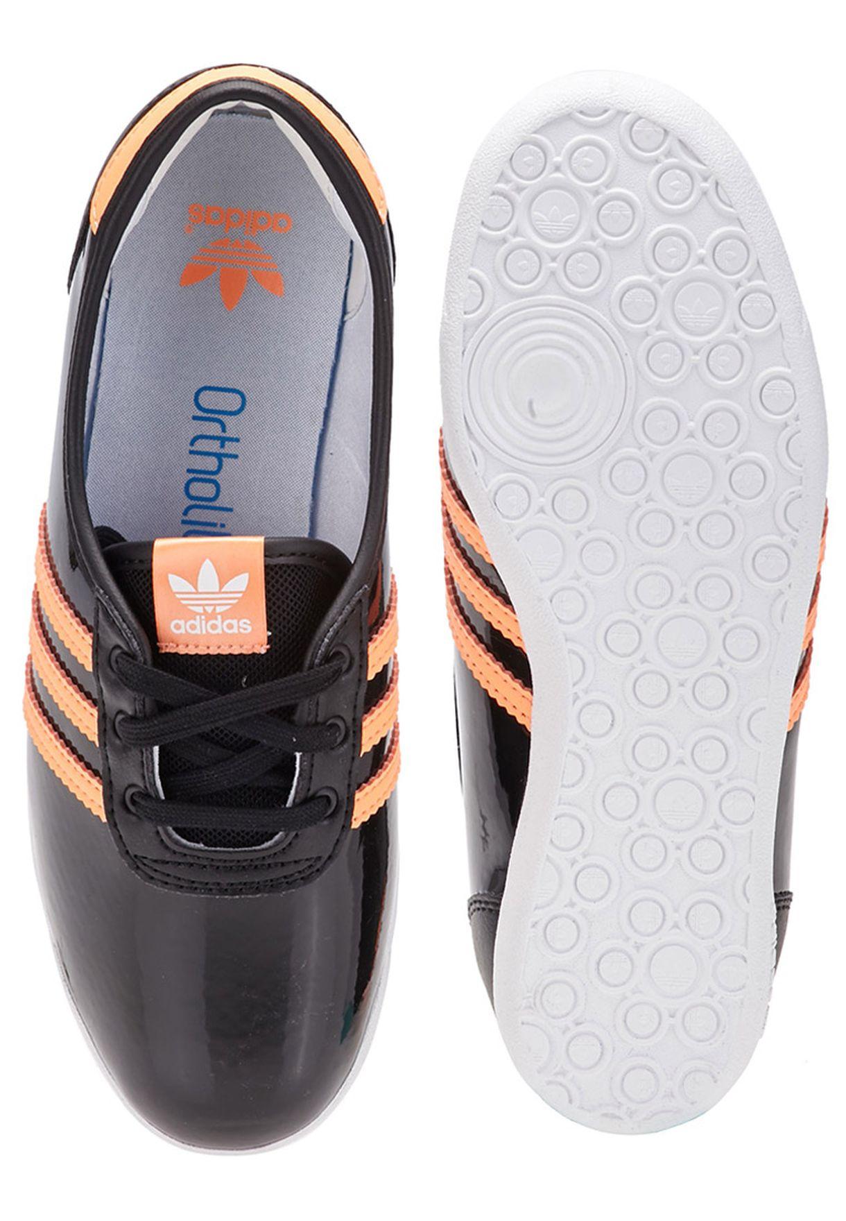 4f4a17eceb7 Shop adidas Originals black Forum Slipper 2.0 Youth B25031 for Kids ...