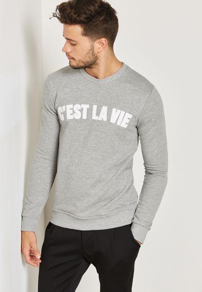 Obias Printed Sweatshirt