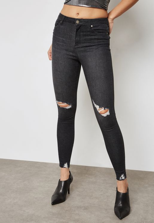 Lizzie Knee Ripped Jeans