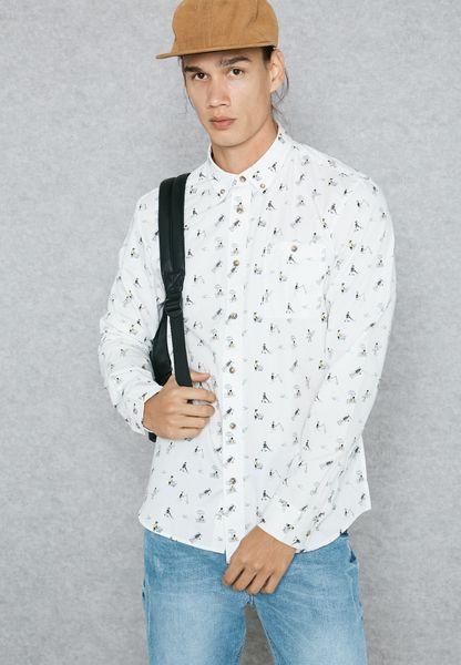 Beach Printed Shirt