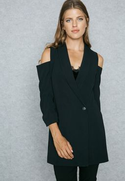 Cold Shoulder Jacket