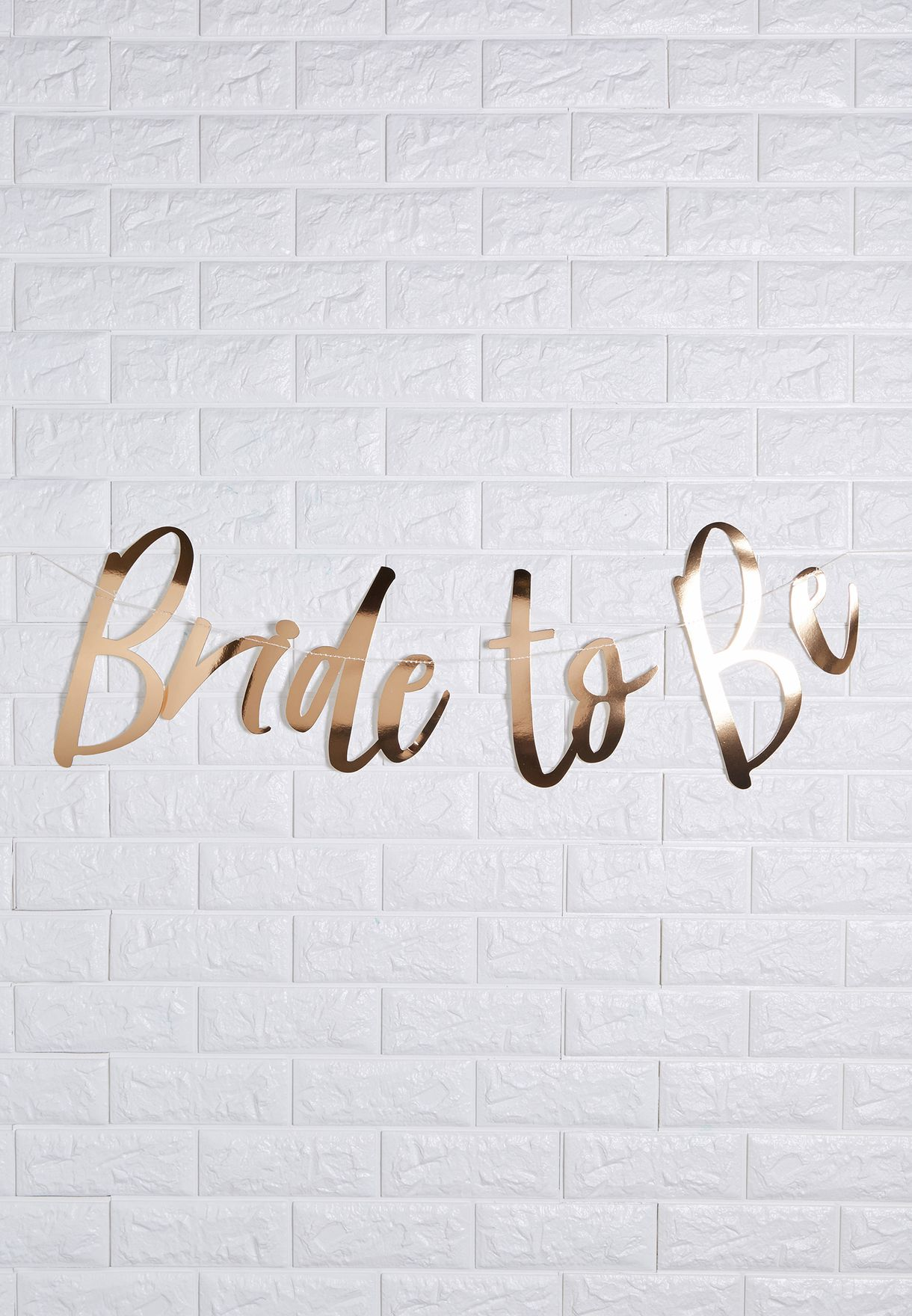 Bride To Be Backdrop Bunting