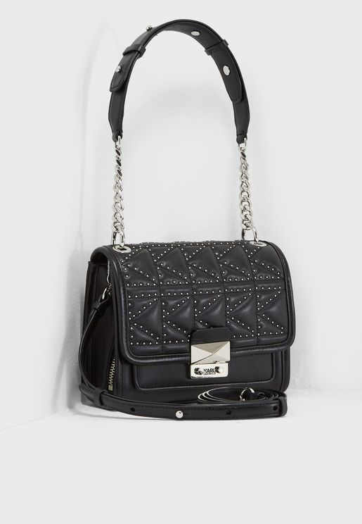 Small Kuilted Studs Crossbody