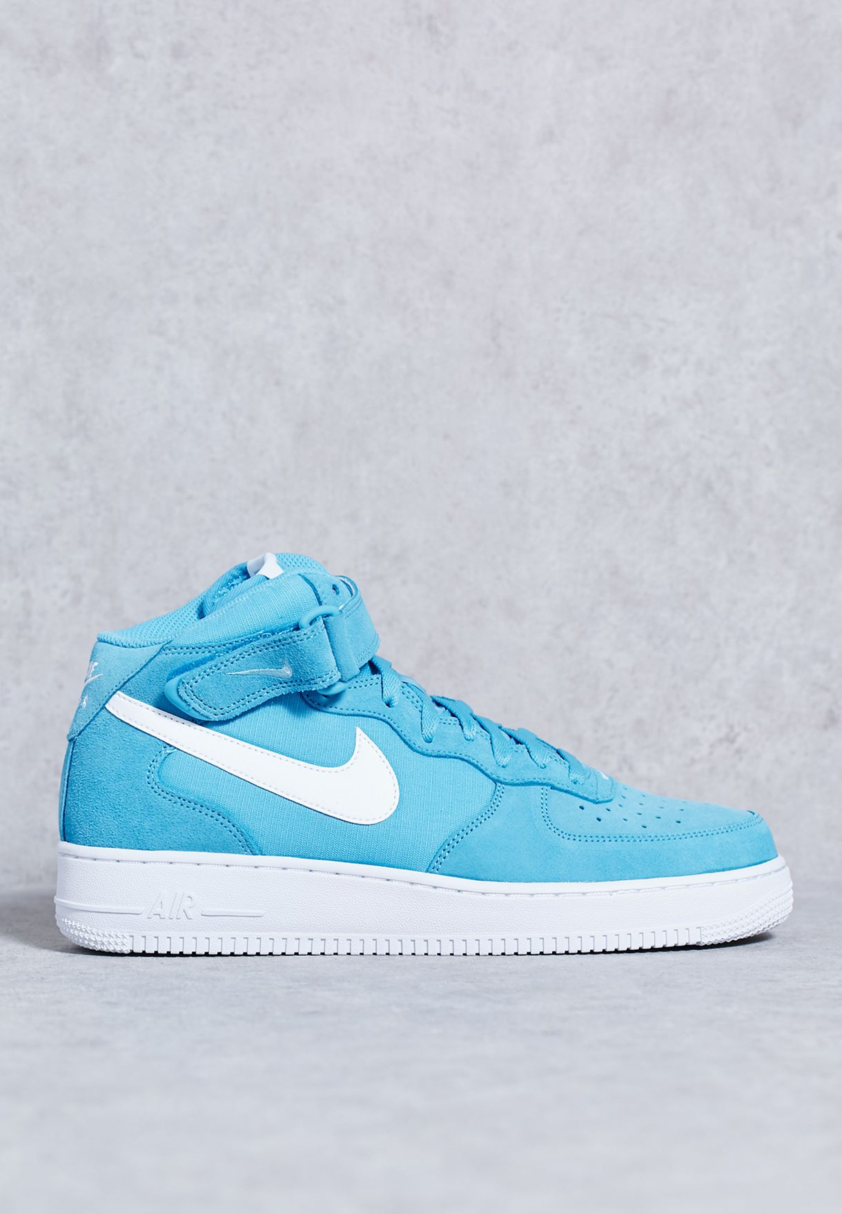 Shop Nike blue Air Force 1 Mid   39 07 315123-409 for Men in UAE ... 656ef5a367c7