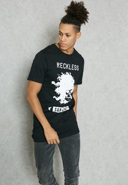 Reckless Skull T-Shirt
