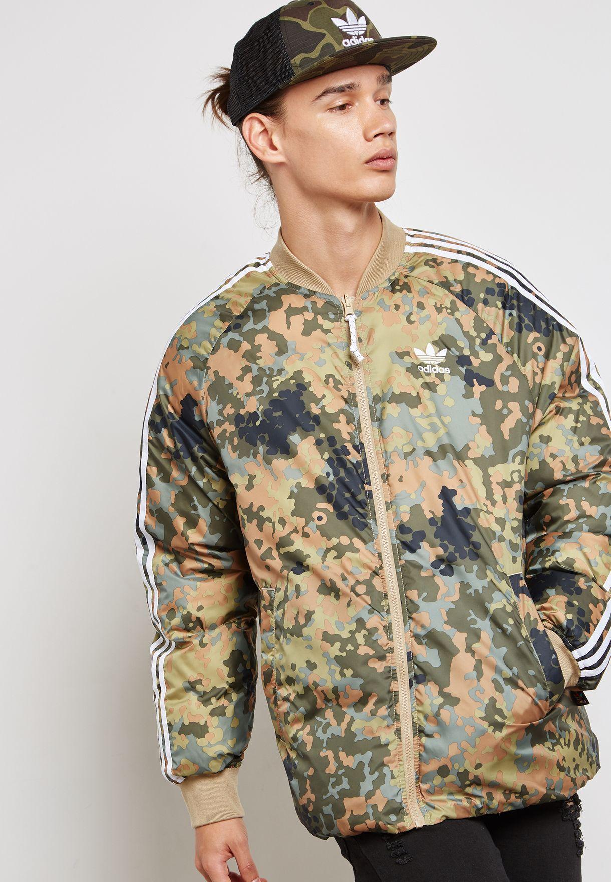 5c42318f3aacf Shop adidas Originals prints Pharrell Williams Hu Coach Reversible ...