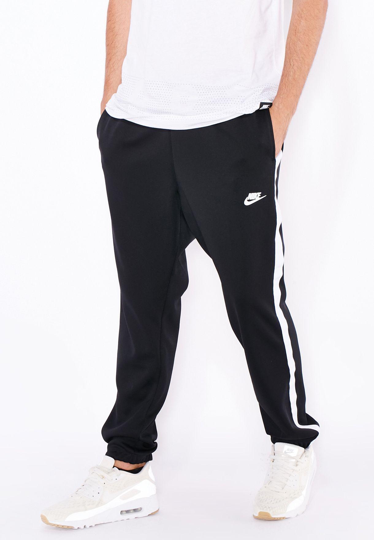 dcb561ffdc52 Shop Nike black Tribute Track Pants 678637-010 for Men in Oman ...