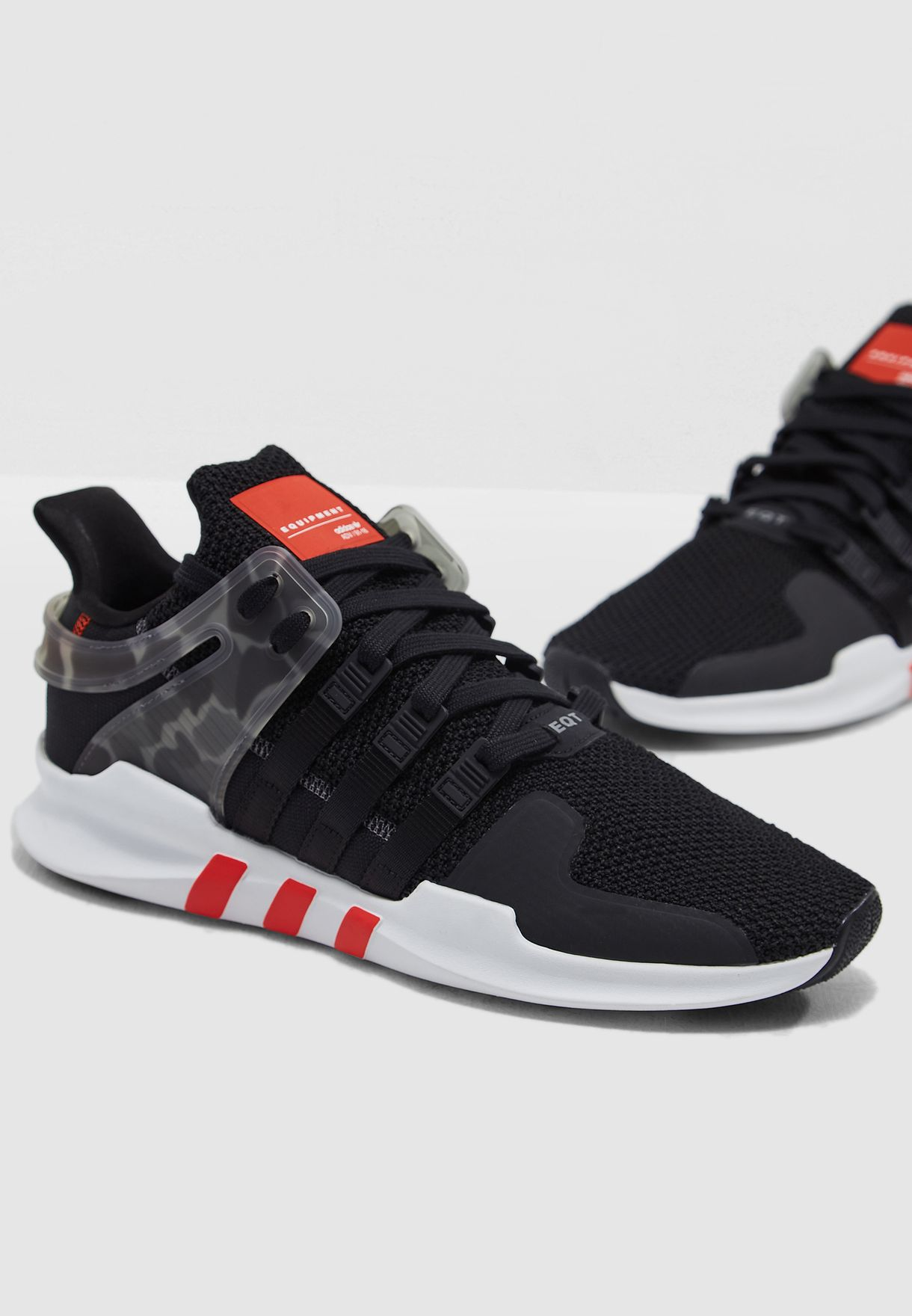 Shop adidas Originals black EQT Support ADV AQ1043 for Men in UAE ... 1a1fc00d69e81
