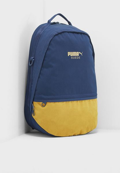 Suede Backpack