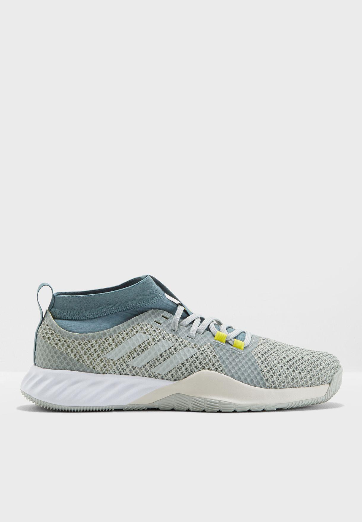 Shop adidas green Crazytrain Pro 3.0 AQ0415 for Men in UAE ... a9af16815